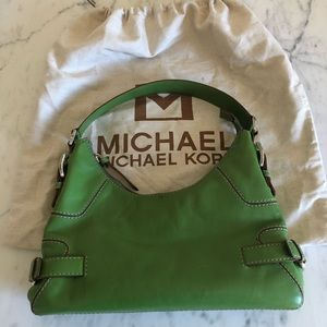 Michael Kors, Lime Green Leather Bag